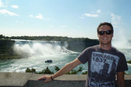 Wasserfälle - Auslandsaufenthalt in Troy, Michigan, USA - Andreas R.