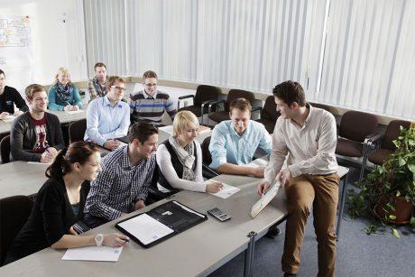 Ausbildung - gemeinsamer Werksunterricht