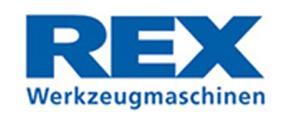 Logo - REX Werkzeugmaschinen Vertriebs GmbH