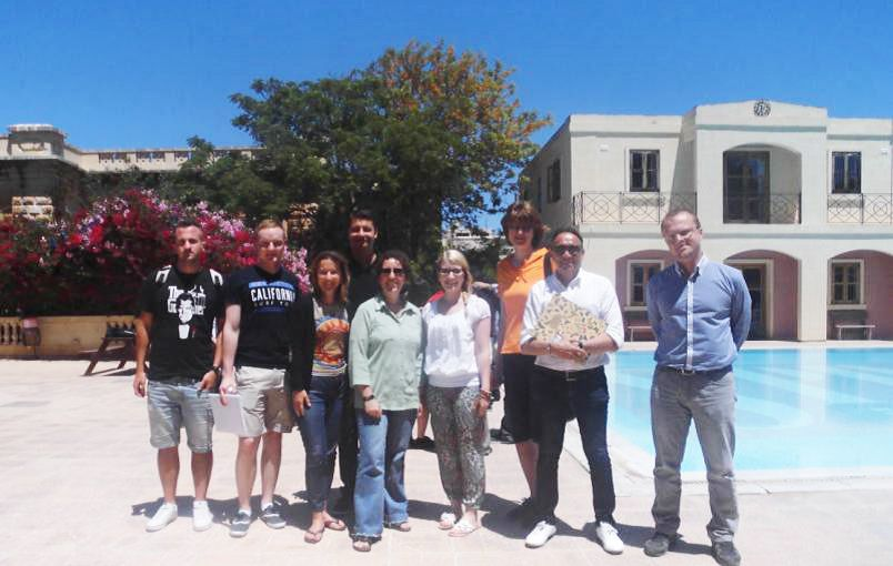 Sprachreisegruppe Malta