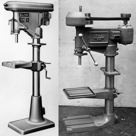 ELHA Ständerbohrmaschine 1930