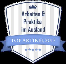 Top Artikel zum Thema Praktika & Arbeiten im Ausland 2017