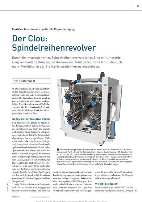 Vorschau - Der Clou: Spindelreihenrevolver